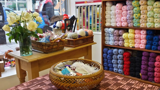Inside view of the London Haberdashery